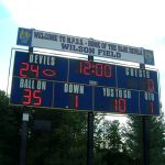 scoreboard protective cages