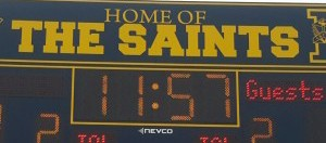 A big WIN for The Saints!