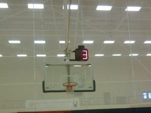 Villanova shot clock - backstop mount