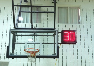Shot-clock-backstop