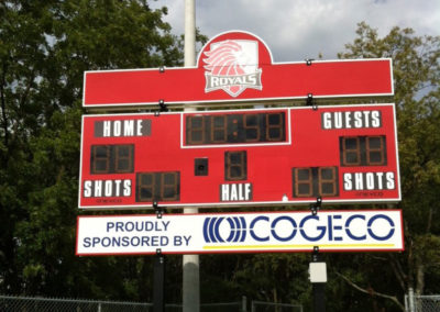 Royals-scoreboard