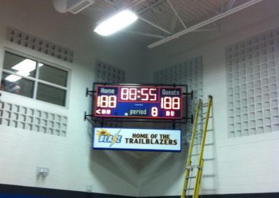 Trailblazers-scoreboard