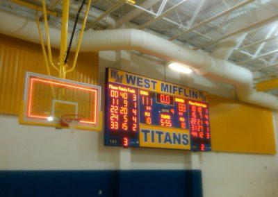Titans-scoreboard