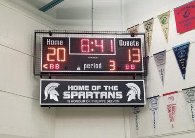 St-John-XXIII-Scoreboard