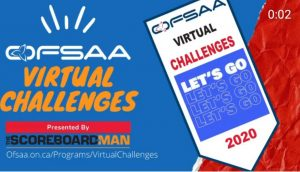 THE SCOREBOARD MAN PARTNERS WITH OFSAA FOR UNIQUE VIRTUAL CHALLENGE