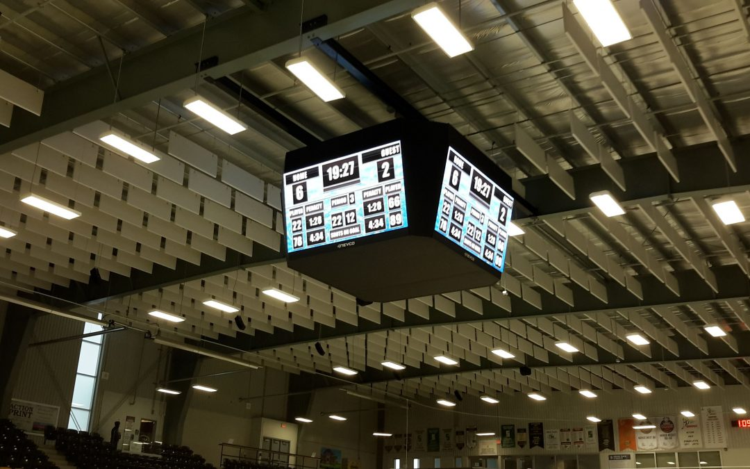Town of Lincoln upgrades The Fleming Centre with a Nevco Video Display